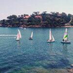 Breve regata nei pressi di Porto Santo Stefano