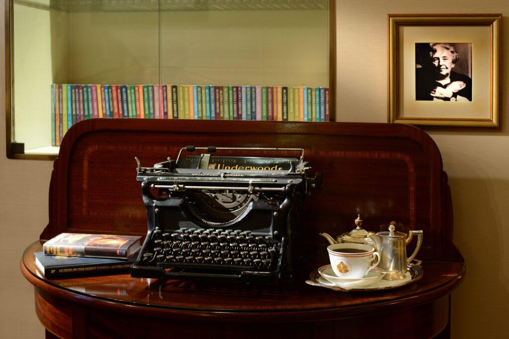 La macchina da scivere di Agatha Christie